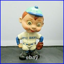 1950's Little League Baseball Vintage Bobble Head Doll with Magic Motion Eyes