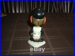 1960's Bobble Head Nodder Baltimore Orioles Mascot White Base 2nd Year TOUGH