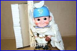1960's MY FAVORITE B'TEAM MILWAUKEE BREWERS TEAM BOBBLE HEAD IN ORIGINAL BOX