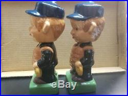 1960's Vintage Baseball National and American League Umpire Bobbleheads Nodders