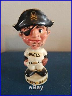 1960s Pittsburgh pirates mini mascot baseball bobble head nodder doll Japan
