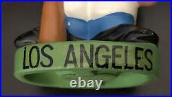 1960s Vintage Los Angeles Dodgers Green Base Bobble Head Nodder Excellentk