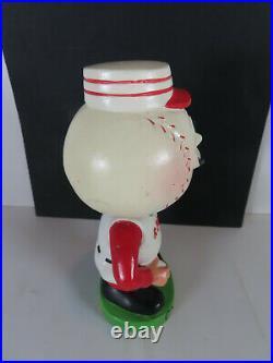 1962 Cincinnati Reds Green Base Nodder Bobblehead MLB Baseball Mr Red Mr Redlegs