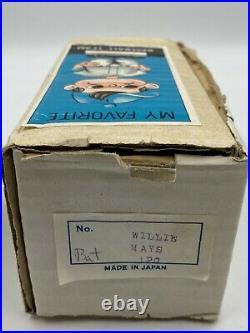 1962 WILLIE MAYS HOF High Grade Bobbing Bobble Nodder Round Base with Original Box