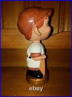 1967 San Diego Padres Boy Head Gold Base Bobble Head/Bobbing Head/Nodder Nr Mt