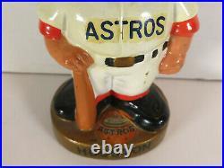 1968 Houston Astros Gold Base Nodder Bobblehead READ DESCRIPTION MLB Baseball