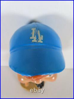 1968 Los Angeles Dodgers Gold Base #32 Bobblehead Nodder with Bat MLB Baseball