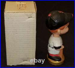 1968 San Francisco Giants Bobble Head Nodder With Box Made In Japan Original
