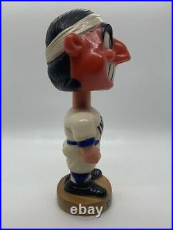 1974 Cleveland Indians Chief Wahoo Plastic Bobblehead Nodder Extremely RARE