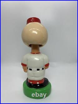 1980s 1983/84 Cincinnati Reds Mr Redlegs TEI Bobblehead Nodder Twins Enterprise