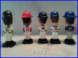 2002-03 Fotoball Mini Baseball Player Bobble heads Lot of 12 Cubs, Giants, Etc