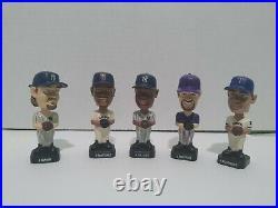2002 Baseball Fotoball Bobble Heads Lot Of 5