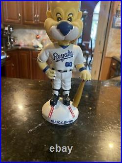 2002 Kansas City Royals Mascot Sluggerrr Bobblehead MLB Baseball 1 Of 10,000