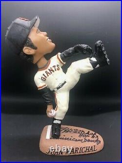 2003 Juan Marichal (SGA) Signed Bobblehead Autograph San Francisco Giants