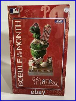 2014 PHILLIE PHANATIC Mascot Philadelphia Phillies Bobblehead World Series Champ
