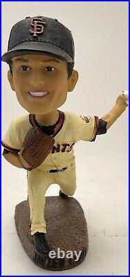 2014 San Francisco Giants Javier Lopez Step To The Plate Special Bobblehead Sga