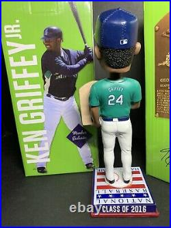 2016 Ken Griffey Jr National Baseball Hall Of Fame Bobblehead LIMITED EDITION