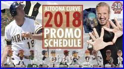 2018 Altoona Curve Mini Bobblehead Lot Bobble SET OF ALL 11 Pittsburgh Pirates