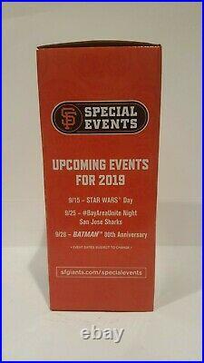 2019 Sf Giants Fiesta Gigante Dia De Los Gigantes San Pancho Bobblehead Nib