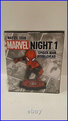 2019 Sf Giants Marvel Night 1 Spiderman Bobblehead Special Event New Sga Rare