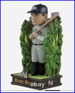 2021 Field of New York Yankees Babe Ruth Bobblehead Cornfield 12/20 Dyersville