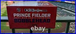 2021 Prince Fielder Milwaukee Brewers All Star Bobblehead Home Run Derby SSH