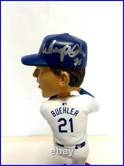 86/2018 PSA WALKER BUEHLER SIGNED Rookie Baseball BOBBLEHEAD DODGERS AUTOGRAPHED