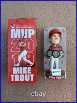 ANGELS BASEBALL MIke Trout 3x MVP Bobblehead SGA 4/2/21 LA Angels NEW IN BOX