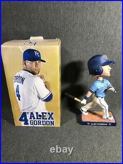 Alex Gordon Bobblehead Kansas City Royals 2014 MLB KC Royals With box