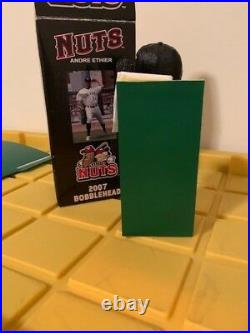 Andre Ethier Modesto Nuts Wall Catch Bobbleheadlos Angeles Dodgers