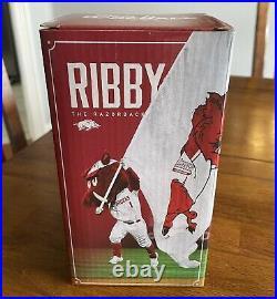 Arkansas Razorbacks Baseball Limited Edition Ribby Bobblehead Bobble Head