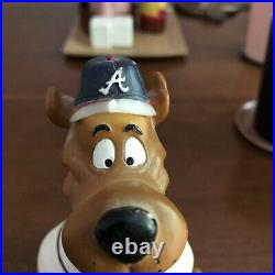 Atlanta Braves MLB Baseball Scooby-Doo Bobble Head Rare Limited Ed 10000