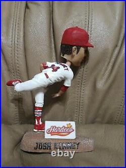 Autographed Springfield Cardinals St Louis Josh Kinney Bobblehead Baseball No Bx