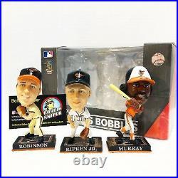 BROOKS ROBINSON EDDIE MURRAY CAL RIPKEN Orioles Legends Baltimore Bobble Head