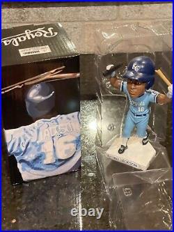 Bo Jackson Kansas City Royals Bat Break Bobblehead Never Displayed #FanFest