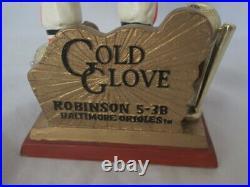 Brooks Robbinson Bobblehead Golden Glove Award Orioles Legends of the Diamond