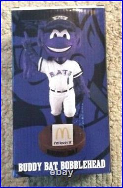 Buddy Bat Mascot Bobblehead Louisville Bats Cincinnati Reds SGA 2015 With Tick