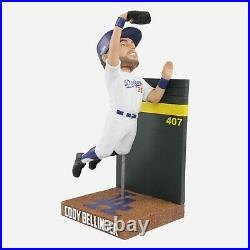 CODY BELLINGER LOS ANGELES DODGERS JUMPING WALL CATCH BOBBLEHEAD FOCO x/400