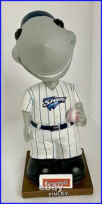 Campbells Camden Riversharks Baseball Mascot Finley Bobblehead Bank