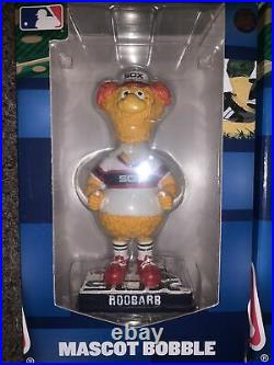 Chicago White Sox Ribbie And Roobarb Mascot Bobblehead Bobble Southpaw Rare Mint