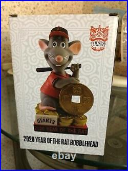 Chinese Year of the Rat 2020 San Francisco Giants Bobblehead - SUPER RARE