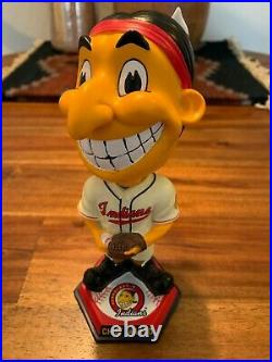 Cleveland Indians Chief Wahoo 1948 1954 Style Bobblehead Bobble Head Figurine