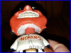 Cleveland Indians Chief Wahoo Mini Nodder Bobbin Head Bobbing Head 1962 Nr Mint