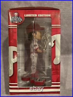 Cole Hamels (35) Philadelphia Phillies 2008 World Series MVP, Forever BobbleHead