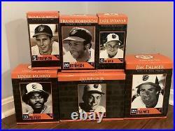 Complete Set of 6 2012 SGA Baltimore Orioles Statues Cal Ripken Eddie Murray