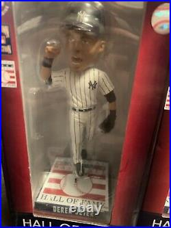 Derek Jeter Mariano Rivera Hall Fame Bobblehead 2020 NY Yankees Baseball Limited