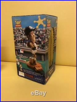 Disney Toy Story Strikeout Woody Major League Baseball Bobblehead Figure