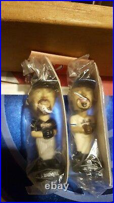 Early 2000 Rare Post baseball Bobble heads Set mlb hall of famers included