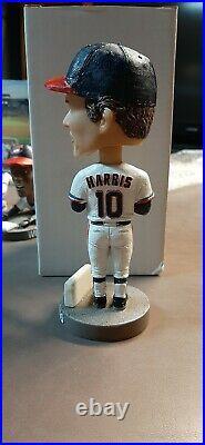 Eddie Harris Major League Cleveland Indians Akron RubberDucks Bobblehead