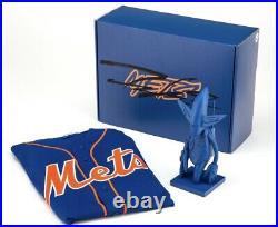 Futura 2000 New York Mets Mlb Pointman Bobblehead Figure 2019 Autographed Box